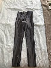 American Apparel BRAND NEW WITH TAGS grey High Waisted Disco Pant Legging RRP£74