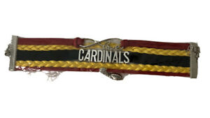 Arizona Cardinals Infinity Collection Bracelet With Football & Love Charms NFL
