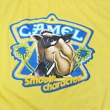 Vintage 1989 R.J. Joe Camel Smooth Character tobacco Tshirt USA Made Size XL