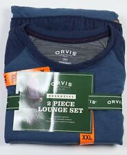 Clothing, Shoes & Accessories Orvis Mens Lounge Pants Elastic Waist Drawstring Gray Size L