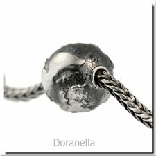 Authentic Trollbeads Sterling Silver 11520 Big Earth :1 RETIRED