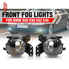 Fog Lights Clear Lens Lamps Housing k Fit For BMW E60 E90 E63 E46 323i 325i 525i