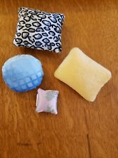 Authentic Bratz Doll Pillows - Lot of 4
