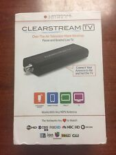 GENUINE Antennas Direct ClearStream TV Digital Tuner - BLACK - CLEARTV - 273CL