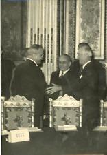 MM. Molotov et Byrnes Vintage silver print Tirage argentique  13x18  Circa