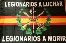 Bandera Legion Española a estrenar