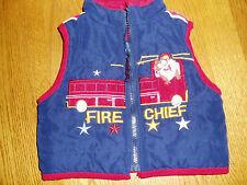 BABY LOONEY TUNES Reversible Vest 12 Mth Infant Boys Unisex Jacket FREE S/H!
