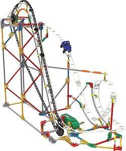 KNEX Blizzard Blast Roller Coaster Building Set Ages 9+ New Toy Boys Girls Gift