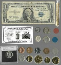 Silver Dollar Barber Mercury Liberty Indian Rare US Coin Collection Lot Gold 406