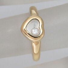 Chopard Ring Happy Diamonds mit 0,05ct Brillant FC in 750/18K Gelbgold