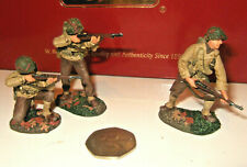 Britains 17643 Breakout-Normandy US 30th Infantry Div Cover Fire Set, in 54mm.