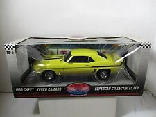 1/18 SUPERCAR / HIGHWAY 61 YELLOW 1969 YENKO CAMARO