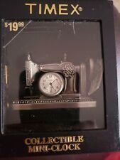 Timex mini clock sewing machine
