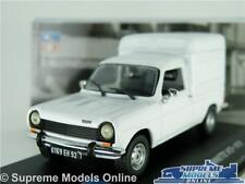 SIMCA 1100 VF2 VAN MODEL CAR 1975 1:43 SCALE WHITE IXO ALTAYA FOURGONNETTE K8