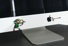 Zelda Link Apple Imac Macbook Air Pro DIY Removable Wall Stickers Decal Majoras