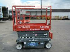 2017 Skyjack SJIII 3219 Scissor Lifts - 19ft Platform, 25ft Working Height