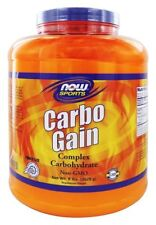 Now Sports CARBO GAIN Muscle Weight Gainer Powder - 8 lbs Pure Maltodextrin