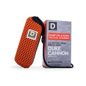 Duke Cannon Soap on a Rope - Tactical Scrubber - US Military Grade