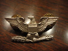 United States Army Military Police Eagle Lapel Pin 1/20 Silver Filled S21 SET