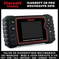 iCarsoft CR PRO 2019 - Valise Diagnostique Multimarque Pro tous systèmes