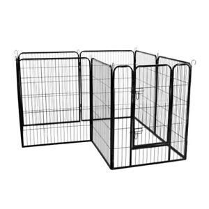 High Quality Large Indoor Metal Puppy Dog Run Fence Iron Pet Door Playpen