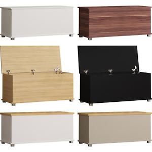 Storage Ottoman Chest Toy Box Bedding Blanket Box Large Wooden Stool Bench
