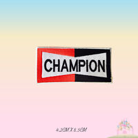 Champion Logo Embroidered Iron On Patch Sew On Badge Applique