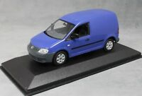 Minichamps Volkswagen VW Caddy Van in Blue 1/43 NEW Dealer Edition