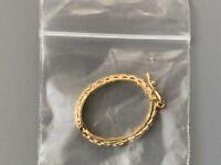 Vintage Oval New Bandana Holder Scarf Ring Hankerchief Slide Rope