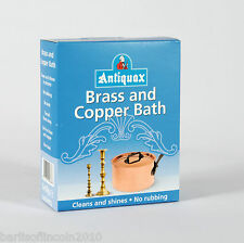 Antiquax Brass and Copper Bath/Cleaner/Solution/Dip/Simply Add Water /Deep Clean