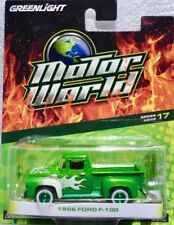 "1956 Ford F-100 Pick-up  grün metallic   / Greenlight  ""Green Machine"" 1:64"