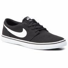 NIKE SB PORTMORE II SOLAR CNVS Men'sBlack/White Sneakers 880268-010