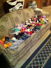 Ty Beanie Baby Lot 71 Original Retired Hippity Hoppity Floppity Rare Error &More