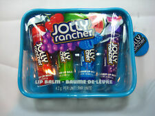 Lotta Luv Jolly Rancher - 5 Piece Set - 4 Flavored Lip Balms Plus Zippered Case