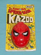 vintage Straco THE AMAZING SPIDER-MAN KAZOO rack toy