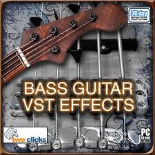 Bass Guitar VST Multi Effects Plugins Great Bass Sound!