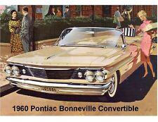 1960 Pontiac Bonneville Convertible  Refrigerator / Tool Box Magnet