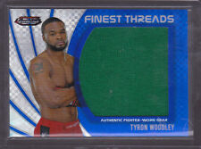 2012 Finest UFC Threads Jumbo Fighter Relics X-Fractors Tyron Woodley 044/188