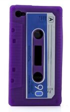 For Apple iPhone 4 4S 4G Flexible Cassette Tape Retro Skin Cover Classic Case