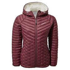 Craghoppers Womens Expolite Packable Hooded Jacket Wildberry RRP £100