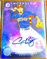 2016 Bowman Inception Alex Bregman Autograph Rookie AUTO RC PURPLE 122/150!