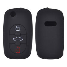 3 Button Silicone Car Key Cover Case For Audi A2 A3 S3 A4 S4 A6 S6 Remote Fob