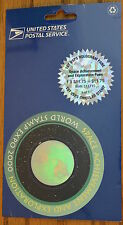USA 2000 USPS Space Achievement Exploration World Stamp Expo Round Hologram