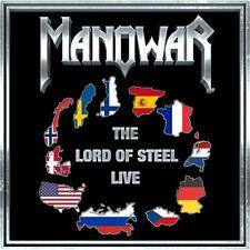 Manowar - The lord of steel - live CD *NEU*OVP*