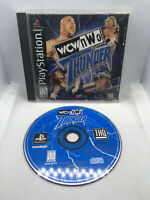 WCW nWo Thunder - Manual and Game Disc - No Rear Insert - Playstation 1 PS1 PSX