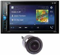 "PIONEER AVH-210EX CAR 6.2"" LCD USB DVD BLUETOOTH STEREO FREE LICENSE PLATE CAM"