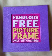 Frame For Cross Stitch Picture 14 cm square. Aperture 8.75 cm square