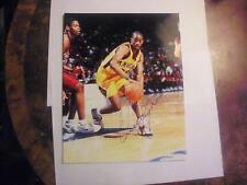 QUINCY LEWIS 1999 PRESS PASS AUTHENTICS AUTOGRAPHED 8 X 10 PICTURE NBA!