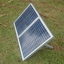 NEW 30W Folding Solar Panel 12V For Charging, Farm, Camping, 4WD, Emergency, etc