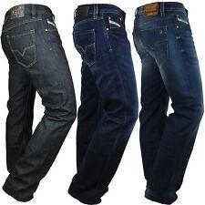 Diesel Jeans Larkee 008Z8 8Z8 gerade Herren Hose dunkelblau onewash Regular neu